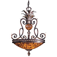 Metropolitan N6513-468 Salamanca 3 Light 24 inch Cattera Bronze Bowl Pendant Ceiling Light