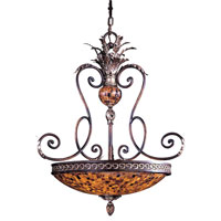 Metropolitan Salamanca 4 Light Pendant in Cattera Bronze N6514-468