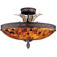 Metropolitan N6520-468 Salamanca 6 Light 24 inch Cattera Bronze Semi Flush Mount Ceiling Light