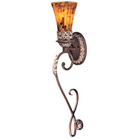 Salamanca 1 Light 6 inch Cattera Bronze Wall Sconce Wall Light