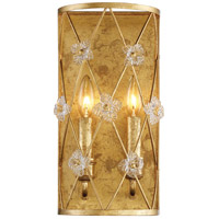 Victoria Park 2 Light 8 inch Elara Gold Wall Sconce Wall Light