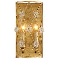 Metropolitan N6561-596 Victoria Park 2 Light 8 inch Elara Gold Wall Sconce Wall Light
