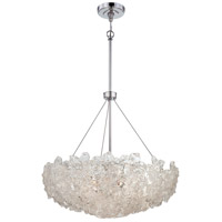 Metropolitan Bella Fiori 5 Light Pendant in Chrome N6631-77