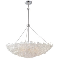 Metropolitan Bella Fiori 10 Light Pendant in Chrome N6632-77