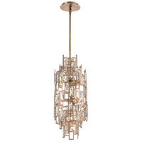 Bel Mondo 7 Light 10 inch Luxor Gold Pendant Ceiling Light