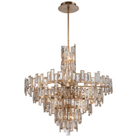 Bel Mondo 21 Light 34 inch Luxor Gold Chandelier Ceiling Light