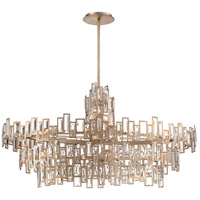 Metropolitan N6679-274 Bel Mondo 21 Light 45 inch Luxor Gold Island Light Ceiling Light