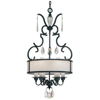 Metropolitan Castellina  6 Light Pendant in Steel N6701-254
