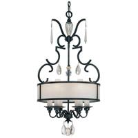 Metropolitan N6701-254 Castellina 6 Light Steel Pendant Ceiling Light