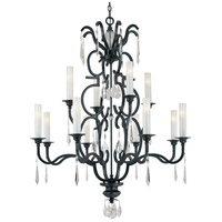 Castellina 12 Light 45 inch Castellina Aged Iron Chandelier Ceiling Light