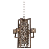 Ajourer 8 Light 27 inch French Bronze Pendant Ceiling Light