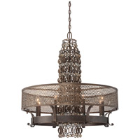 Metropolitan Ajourer  8 Light Chandelier in French Bronze N6726-258
