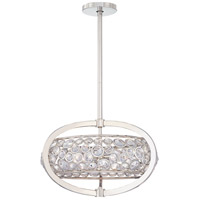 Magique 5 Light Polished Nickel Pendant Ceiling Light