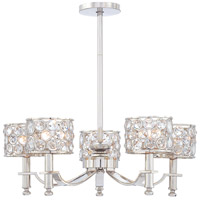 Metropolitan Magique  5 Light Chandelier in Polished Nickel N6754-613 photo thumbnail