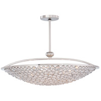 Magique 10 Light 36 inch Polished Nickel Pendant Ceiling Light