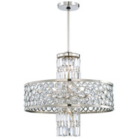 Magique 13 Light 24 inch Polished Nickel Chandelier Ceiling Light