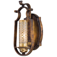 Metropolitan Vineyard Haven 1 Light Sconce in Vineyard Patina N6760-257