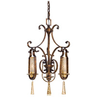 Metropolitan Vineyard Haven 3 Light Chandelier in Vineyard Patina N6761-257