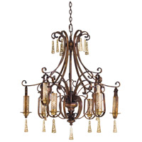 Metropolitan Vineyard Haven 9 Light Chandelier in Vineyard Patina N6762-257