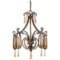 Metropolitan Vineyard Haven 5 Light Chandelier in Vineyard Patina N6763-257