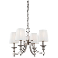 Metropolitan Continental Classics 4 Light Chandelier in Polished Nickel N6801-613