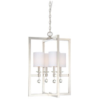 Metropolitan Chadbourne  4 Light Pendant in Polished Nickel N6841-613