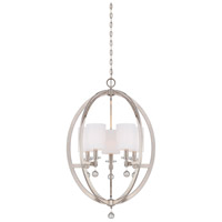 Metropolitan Chadbourne 5 Light Chandelier in Polished Nickel N6842-613