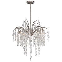 Bella Flora 8 Light 25 inch Silver Mist Pendant Ceiling Light