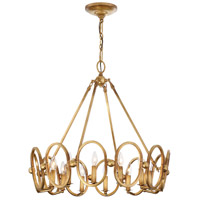 Metropolitan N6888-293 Clairpointe 12 Light 30 inch Pandora Gold Leaf Chandelier Ceiling Light