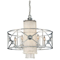 Metropolitan Walt Disney Signature Fantasy 10 Light Chandelier in Brushed Nickel / Chrome N6902-77