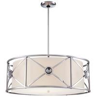 Metropolitan N6905-1-77 Fantasy 4 Light 27 inch Chrome Pendant Ceiling Light