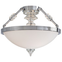 Metropolitan Walt Disney Signature Kingswell 2 Light Semi Flush in Chrome N6932-77
