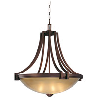 Metropolitan Walt Disney Signature Underscore  5 Light Pendant in Cimarron Bronze N6951-267B
