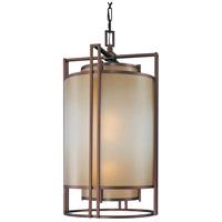 Metropolitan N6956-1-267B Underscore 3 Light 20 inch Cimmaron Bronze Pendant Ceiling Light
