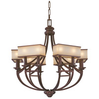 Metropolitan Walt Disney Signature Underscore  12 Light Chandelier in Cimarron Bronze N6957-267B