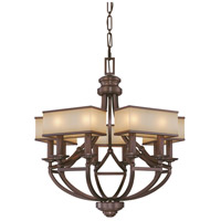Metropolitan Walt Disney Signature Underscore  10 Light Chandelier in Cimarron Bronze N6958-267B