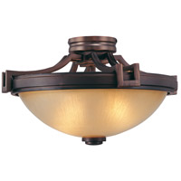Metropolitan N6960-1-267B Underscore 2 Light 17 inch Cimmaron Bronze Semi-Flush Mount Ceiling Light