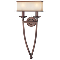 Metropolitan Walt Disney Signature Underscore  2 Light Sconce in Cimarron Bronze N6962-267B