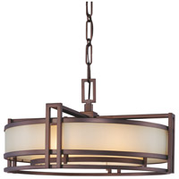 Metropolitan Signature 2 Light Pendant in Cimarron Bronze N6963-267B