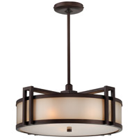 Metropolitan Walt Disney Signature Underscore 3 Light Pendant in Cimarron Bronze N6966-267B