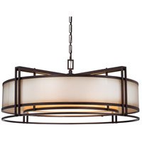 Metropolitan Walt Disney Signature Underscore 5 Light Pendant in Cimarron Bronze N6967-267B