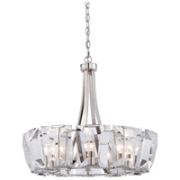 Castle Aurora 12 Light 26 inch Polished Nickel Chandelier Ceiling Light