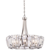Metropolitan Castle Aurora 12 Light Chandelier in Polished Nickel N6982-613