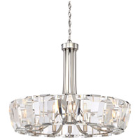 Castle Aurora 16 Light 33 inch Polished Nickel Chandelier Ceiling Light