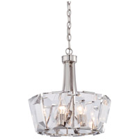 Castle Aurora 8 Light 17 inch Polished Nickel Pendant Ceiling Light