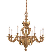 Metropolitan Metropolitan Family 8 Light Chandelier in French Gold N700308
