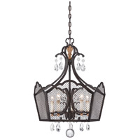 Cortona 5 Light 24 inch French Bronze/Gold Pendant Ceiling Light
