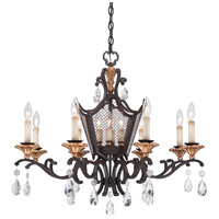 Metropolitan N7112-258B Cortona 12 Light 32 inch French Bronze with Gold Highlights Chandelier Ceiling Light