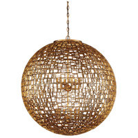 Abbondanza 12 Light 32 inch Halcyon Gold Chandelier Ceiling Light