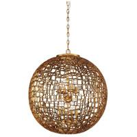 Metropolitan N7139-597 Abbondanza 8 Light 24 inch Halcyon Gold Chandelier Ceiling Light